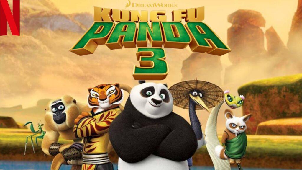Kung Fu Panda 3 (2016): Watch it on NetFlix
