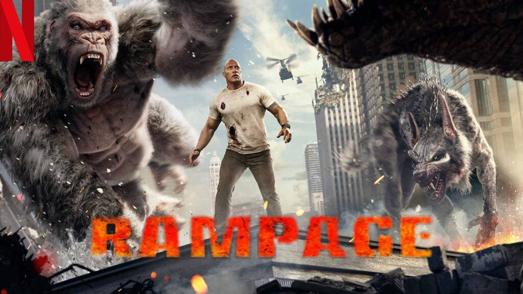 Rampage (2018): How to watch it on NetFlix