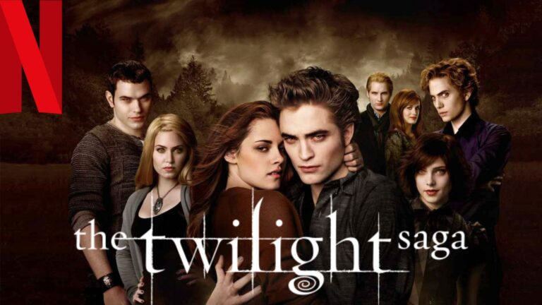 Twilight: How to Watch all 5 Parts on NetFlix From Anywhere in the World