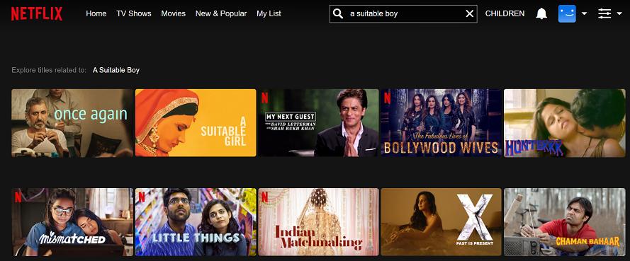 Watch A Suitable Boy on Netflix 1