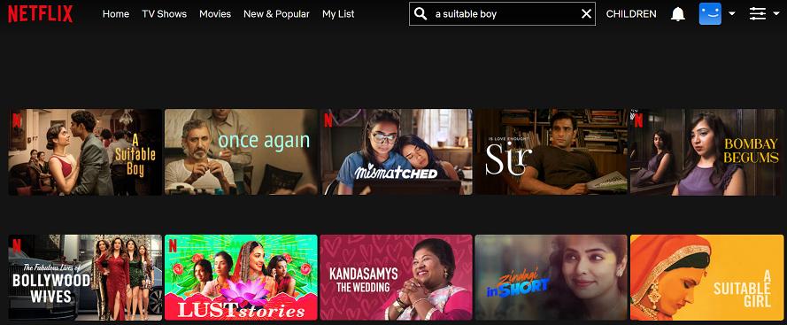 Watch A Suitable Boy on Netflix 2