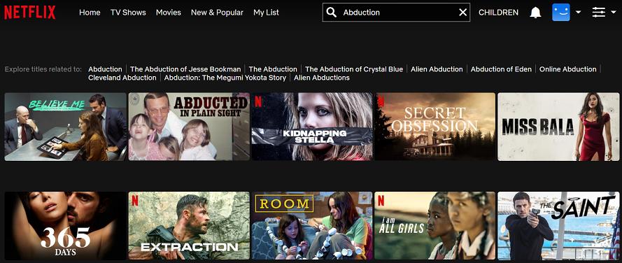 Watch Abduction (2011) on Netflix 1