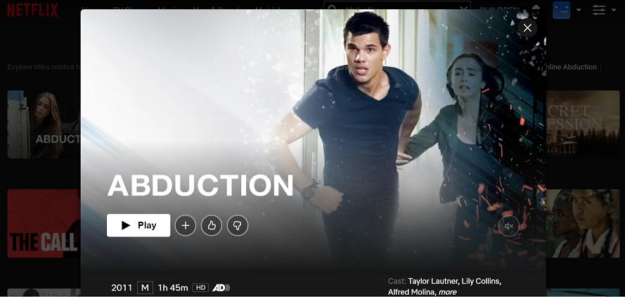 Watch Abduction (2011) on Netflix 3