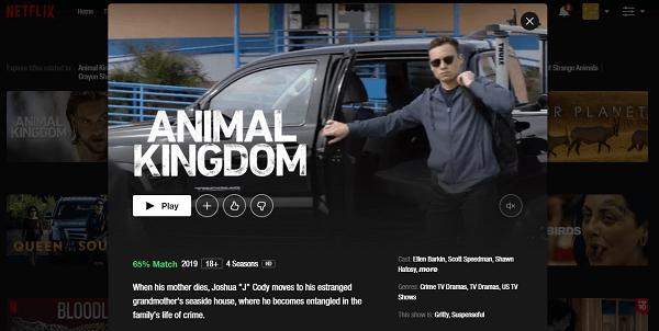 Watch Animal Kingdom on Netflix 3