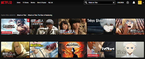 Mira Attack on Titan las 5 temporadas en NetFlix 2