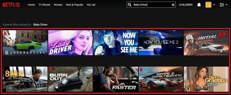 Watch Baby Driver (2015) on Netflix 1