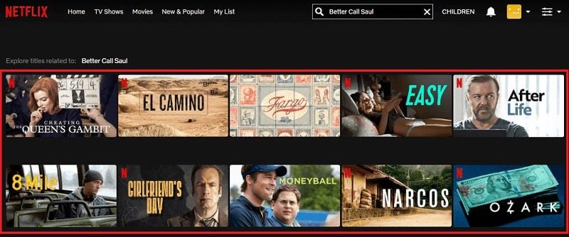 Watch Better Call Saul on Netflix 1