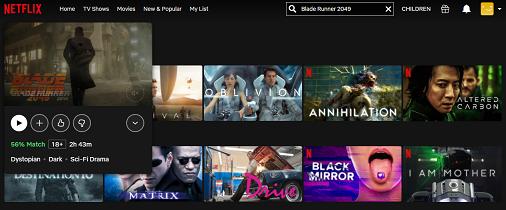 Watch Blade Runner 2049 on Netflix 2