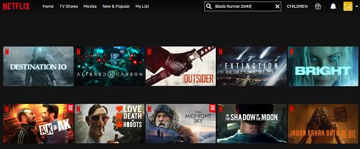 Watch Blade Runner 2049 on Netflix 3