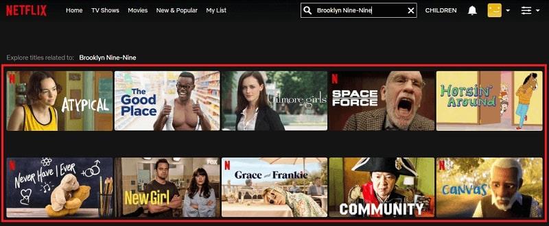 Watch Brooklyn Nine-Nine on Netflix 1