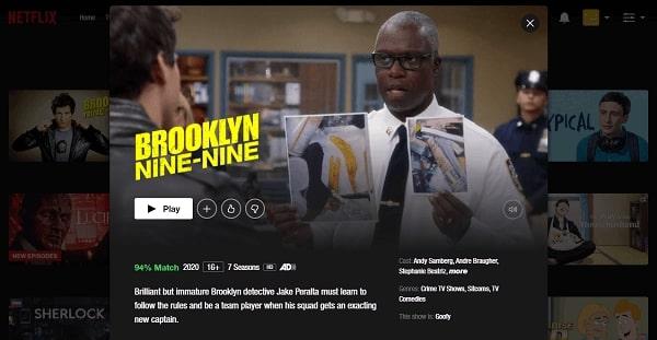 Watch Brooklyn Nine-Nine on Netflix 3
