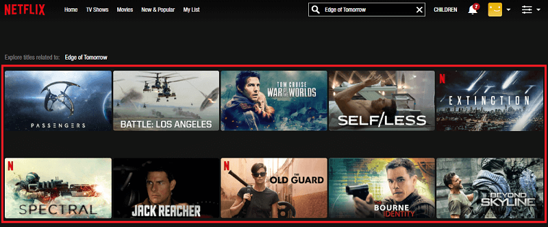 Watch Edge of Tomorrow (2014) on Netflix 1