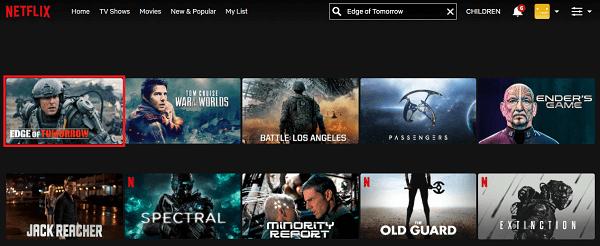 Watch Edge of Tomorrow (2014) on Netflix 2