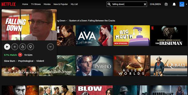 Watch Falling down on Netflix 4
