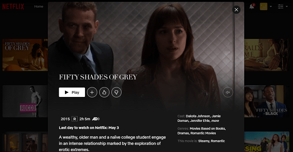 Watch Fifty Shades of Grey (2015) on Netflix 3