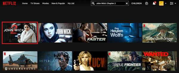 Watch John Wick - Chapter 2 (2017) on Netflix 2