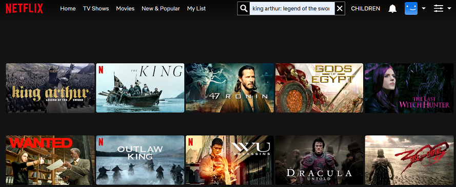 Watch King Arthur Legend of the Sword (2017) on Netflix 2