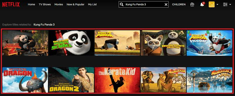 Watch Kung Fu Panda 3 (2016) on Netflix 1