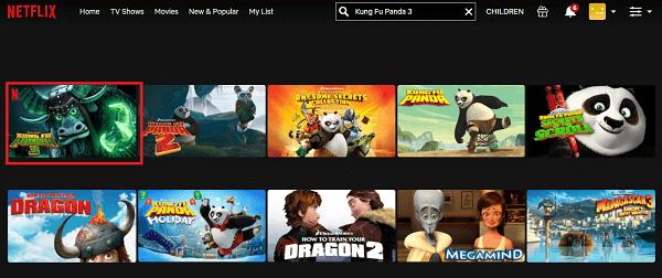 Watch Kung Fu Panda 3 (2016) on Netflix 2