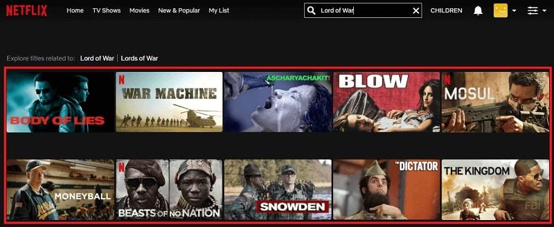 Watch Lord of War (2005) on Netflix 1