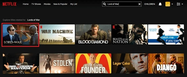 Watch Lord of War (2005) on Netflix 2