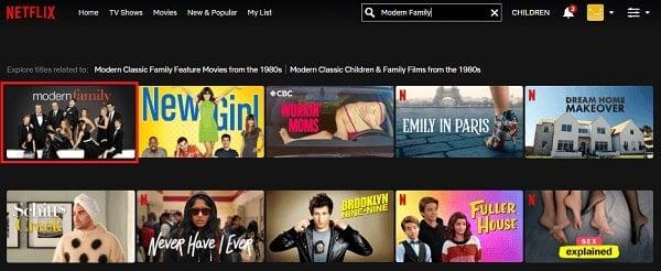 Watch Modern Family on Netflix 2