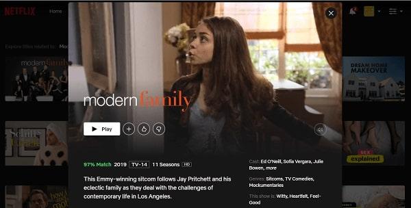 Watch Modern Family on Netflix 3