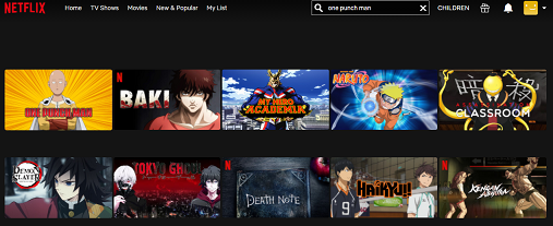 Watch One-Punch Man both of the 2 on NetFlix 2