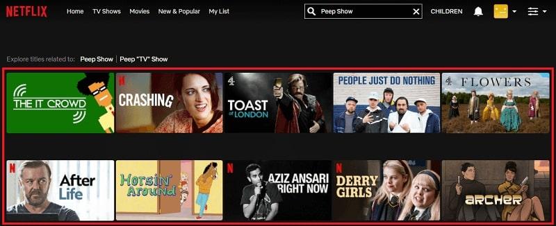 Watch Peep Show on Netflix 1