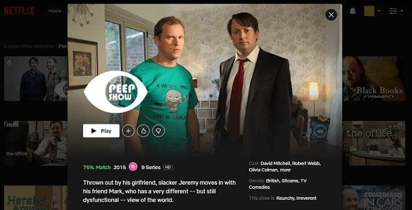 Watch Peep Show on Netflix 3
