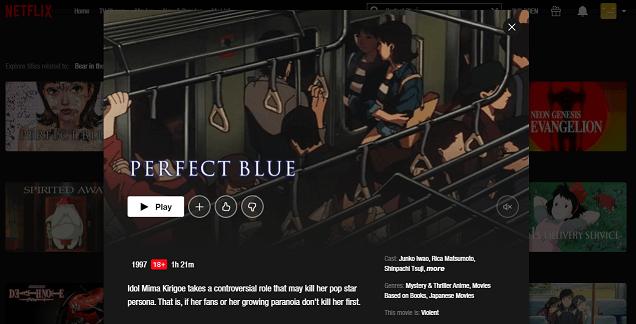 Watch Perfect Blue on Netflix 3