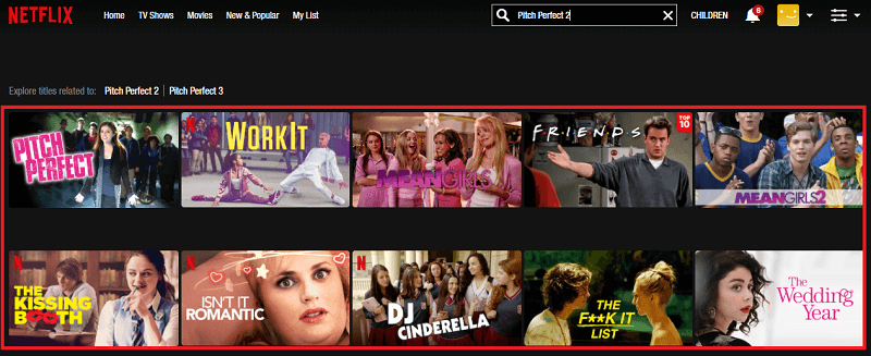 Watch Pitch Perfect 2 (2015) on Netflix 1