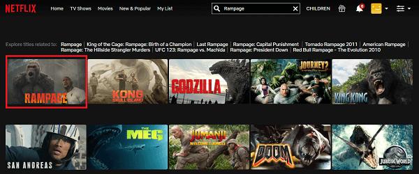Watch Rampage (2018) on Netflix 2