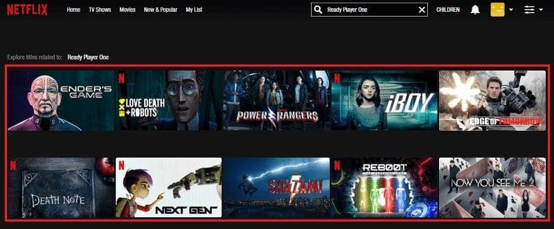 Watch Ready Player One (2018) on Netflix 1
