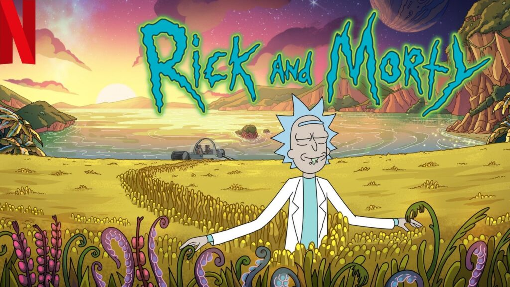 Watch Rick & Morty all seasons on NetFlix