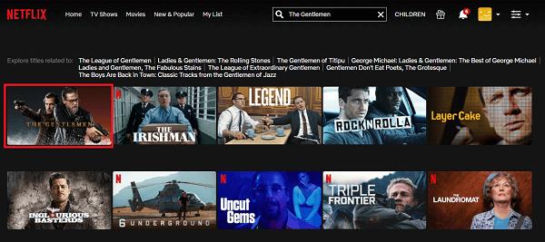 Watch The Gentlemen (2020) on Netflix 2