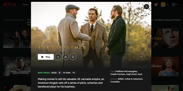 Watch The Gentlemen (2020) on Netflix 3