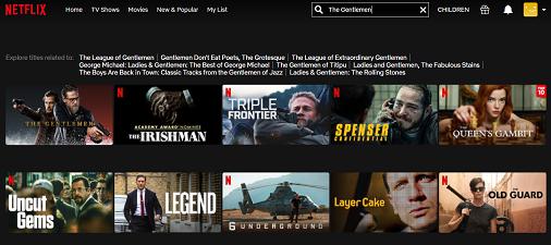 Assista The Gentlemen no Netflix 2