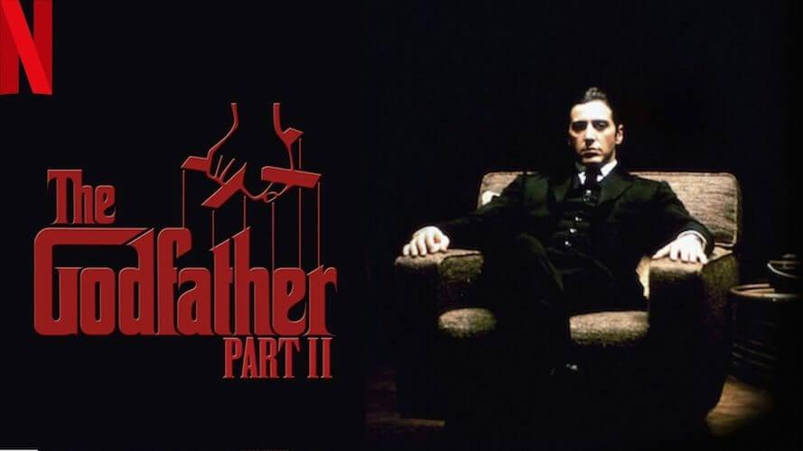 The godfather 2 on netflix