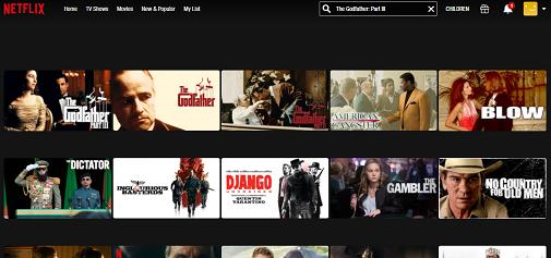 Watch The Godfather Part III on Netflix 2