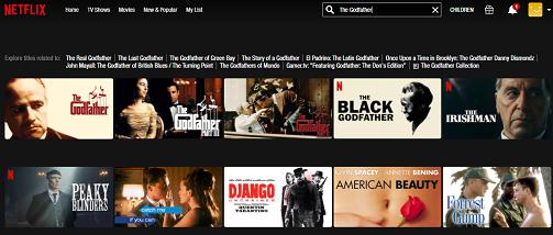 Watch The Godfather Trilogy on Netflix 2