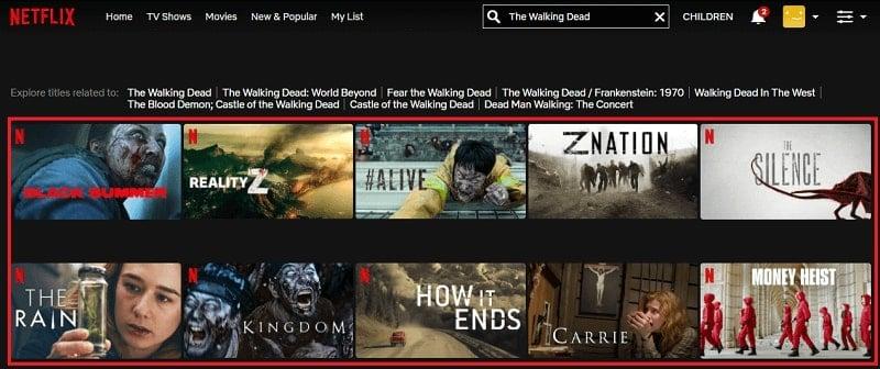 Watch The Walking Dead on Netflix 1