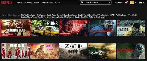 Watch The Walking Dead on Netflix 2