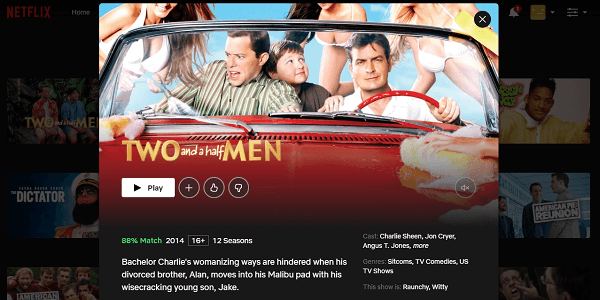 Watch Two and a Half Men on Netflix 3