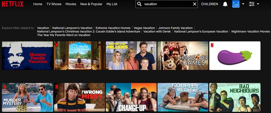 Watch Vacation (2015) on Netflix 1
