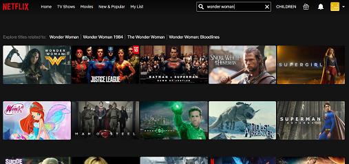 Watch Wonder Woman on Netflix 2