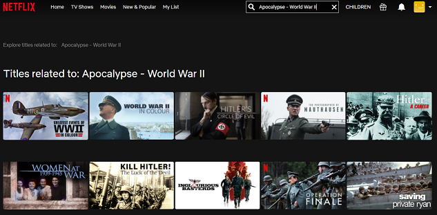 Watch Apocalypse - World War II all Episodes on Netflix 1