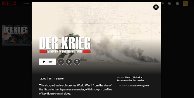 Watch Apocalypse - World War II all Episodes on Netflix 3