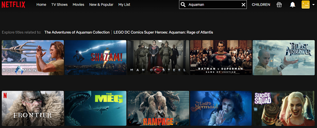 Watch Aquaman on Netflix 2