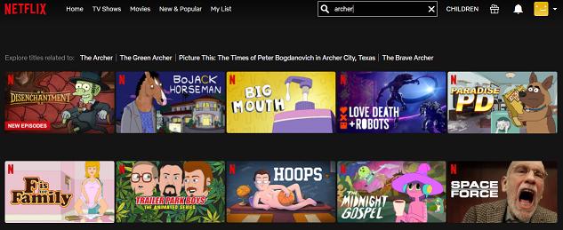 Watch Archer on Netflix 1